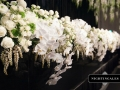 phalaenopsis orchids-draping-maintable