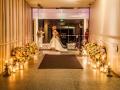 floral reception entrance