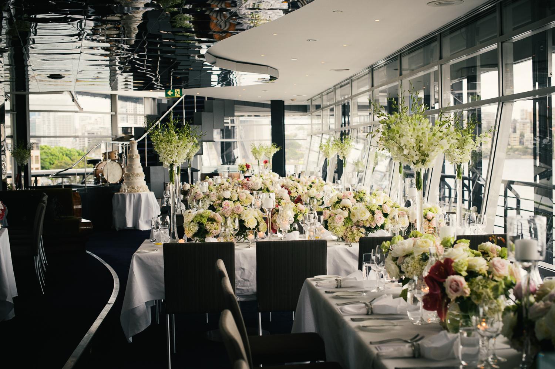 Reception Room Flowers Quay