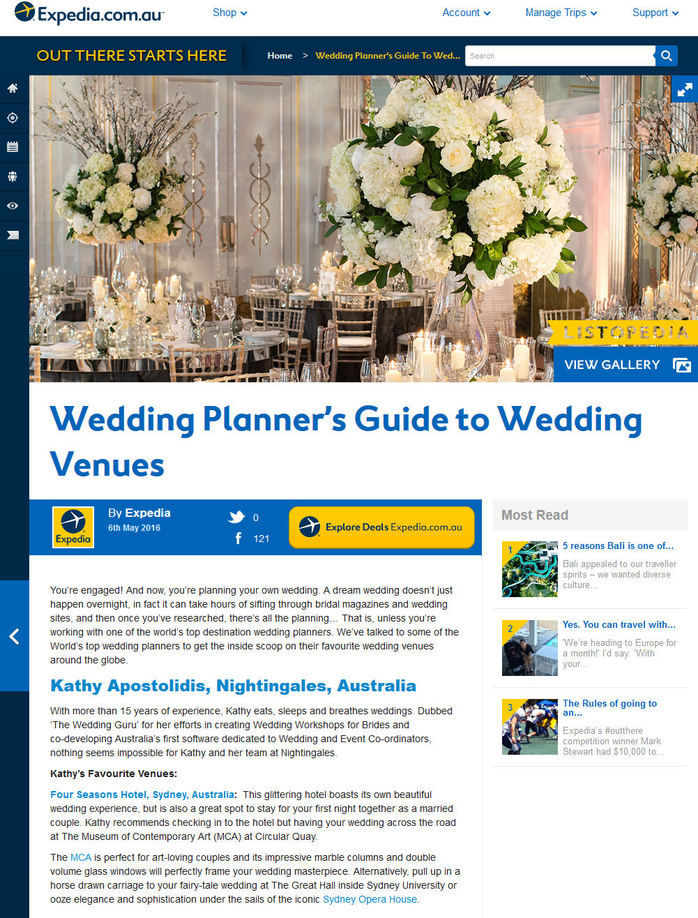 Wedding Planner Expedia